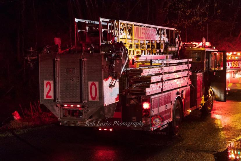 TRUCK 20 RESPONDS MUTUAL AID TO JORDAN TWP, NORTHUMBERLAND COUNTY