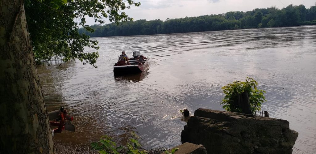 WATER RESCUE IN NORTHUMBERLAND COUNTY