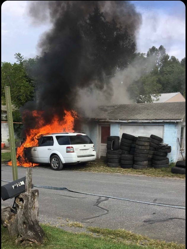STRUCTURE FIRE ON PEARL STREET