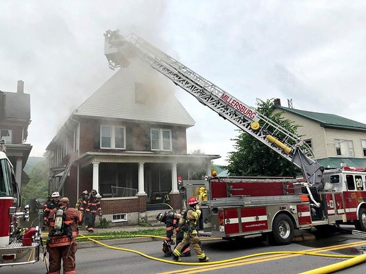 STRUCTURE FIRE ON UNION STREET