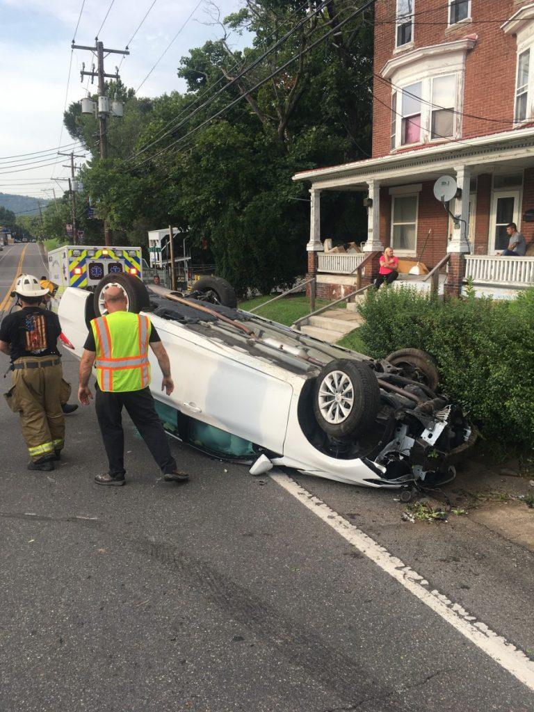 MOTOR VEHICLE ACCIDENT ON N MARKET STREET